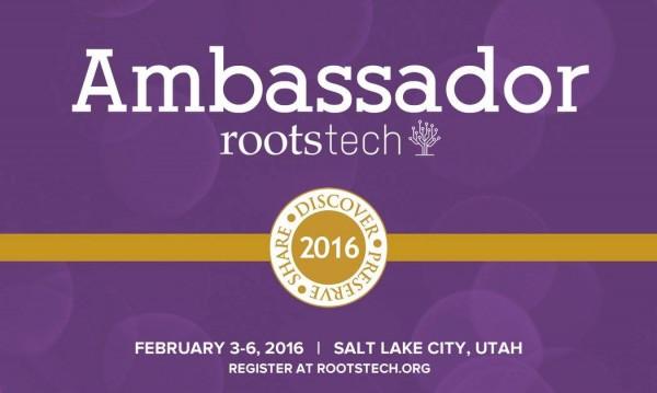 RootsTech Ambassador Badge