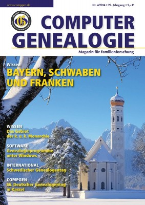Magazin: Computergenealogie