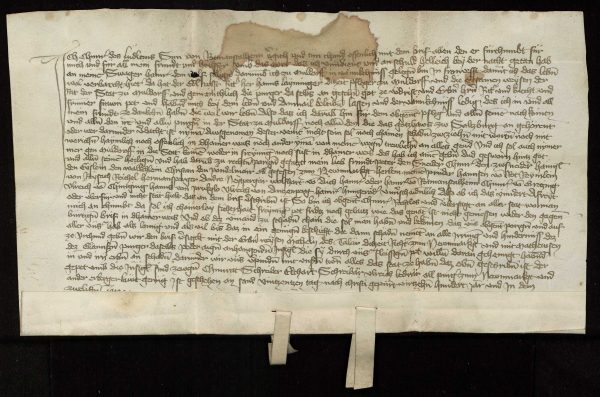 Mühldorf, Mord an Schwager (1412)